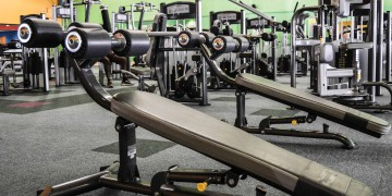 The weights area at Zone Brackenfell