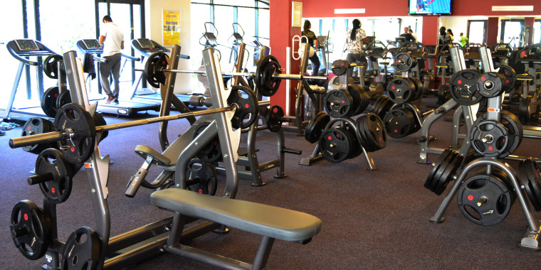 The weights area at Zone Cape Quarter