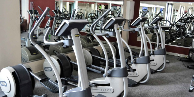 The elliptical training area at Zone Fitness Women Cape Town