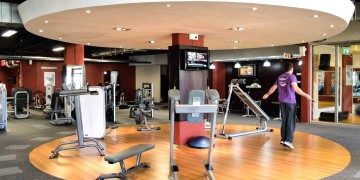 The circuit area at Zone Fitness Willowbridge