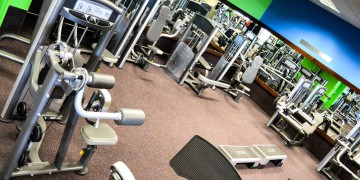 The circuit area at Zone Fitness Cobble Walk