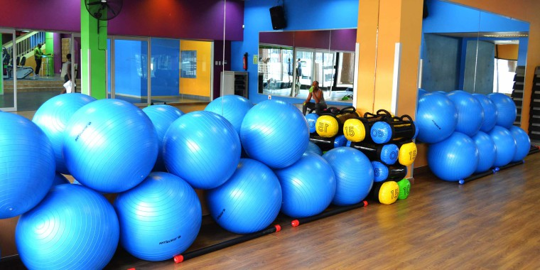 Our aerobic studios, pictured here at Zone Fitness Life Centre,  are fully equipped to maximise your fitness potential