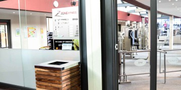 Experience the welcoming atmosphere at Zone Fitness, pictured here at Zone Fitness Women Cape Town