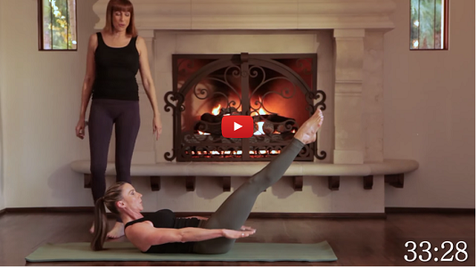 30 min Intermediate Core Blasting Pilates Workout I ZoneFitness