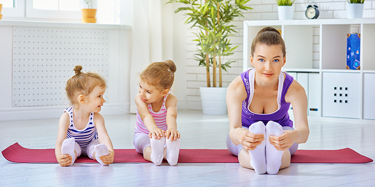 Kids in action Fitness for Children