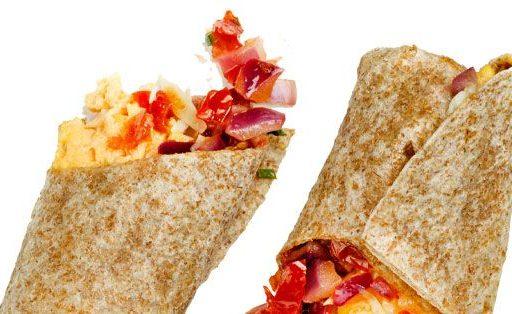 Fat burning breakfast burrito